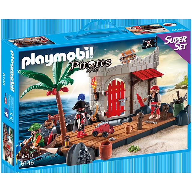 Playmobil 摩比 6146 海盜Super Set