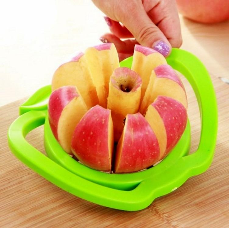 切蘋果器【KFS027】高級不鏽鋼切蘋果器 廚房用品 切水果 切蔬果 切蘋果 超省力 不鏽鋼 收納女王