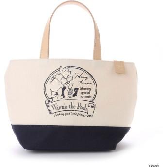 サマンサタバサプチチョイス ディズニーコレクション「くまのプーさん」シリーズミニバッグ オフホワイト