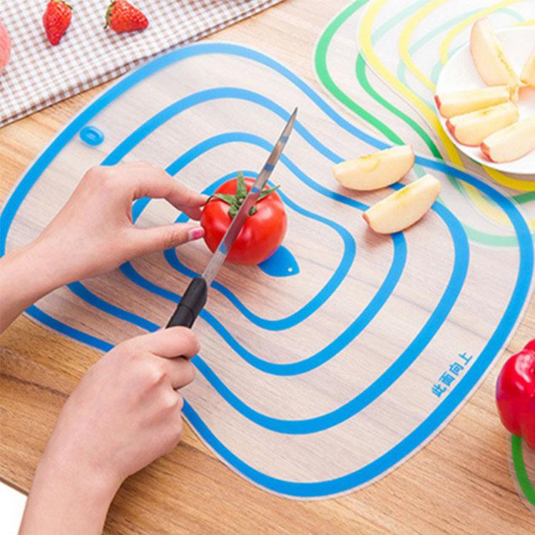 廚房用品【KFS064】造型食材分類切菜板(大) 切菜板 砧板 分類砧板 造型砧板 廚房砧板 食材分類-收納女王