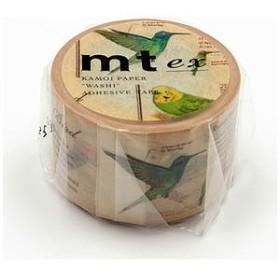 カモ井加工紙 「マスキングテープ」mt ex 図鑑・鳥 MTEX1P90