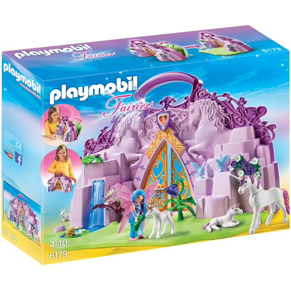 Playmobil 摩比 6179 仙女獨角獸 手提盒