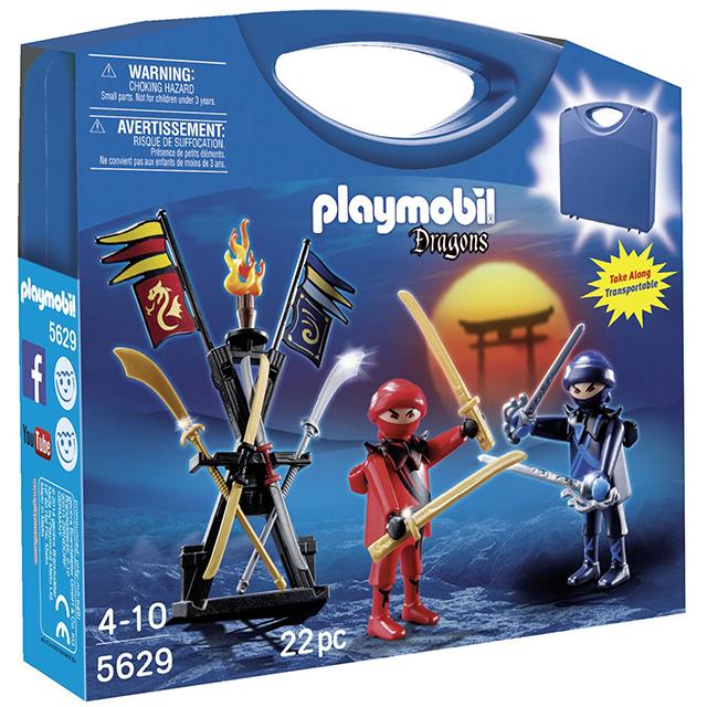 Playmobil 摩比 5629 火龍騎士提盒