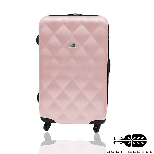 Just Beetle經典菱紋系列ABS材質24吋輕硬殼旅行箱/行李箱