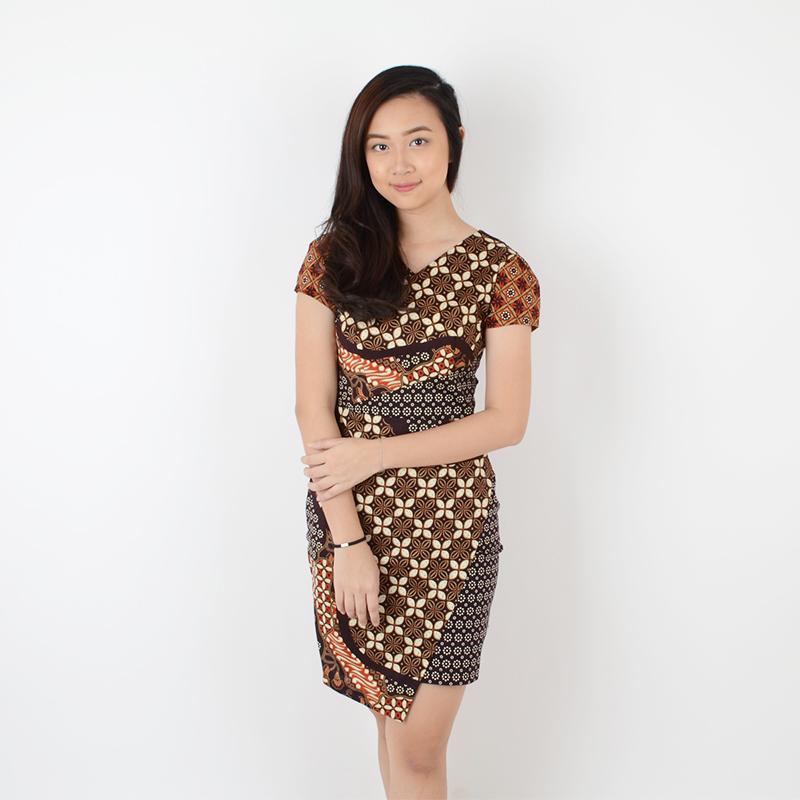 De Voile Dress Batik Wanita Smash Kelly ds (Brown) 7f47d07a9c