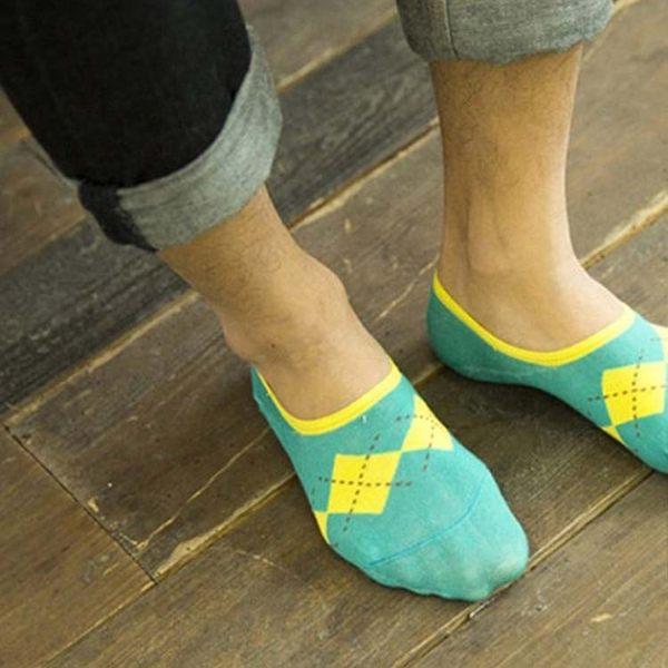 襪子【FSM013】英格蘭紋男生船型短襪 短襪 運動襪 條紋襪 氣墊襪 純棉 毛巾襪 船型襪 男女襪 學生襪-收納女王