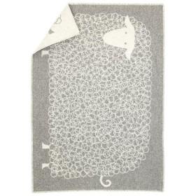 LAPUAN KANKURIT ラプアン カンクリ KILI (LAMMAS) blanket グレー×ホワイト