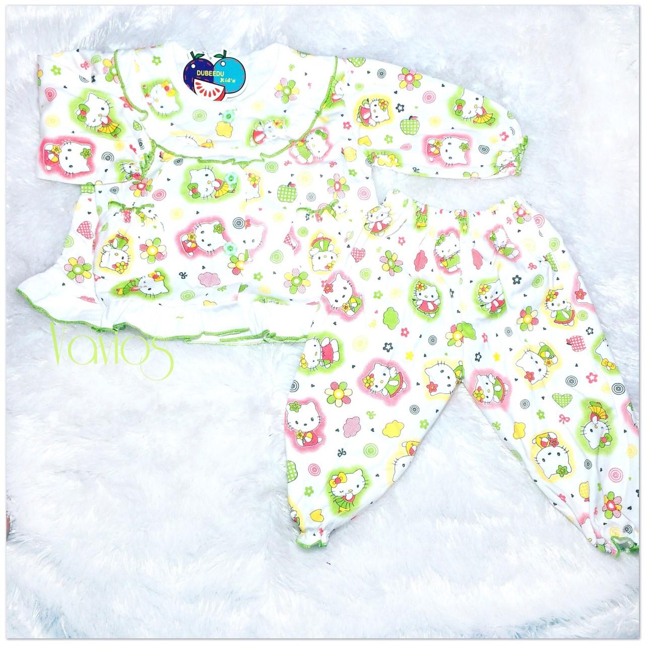 Vavios Shop Line Katalog Baju Hellokitty Sleep Wear Baby Girl Hello Kitty Tidur Anak