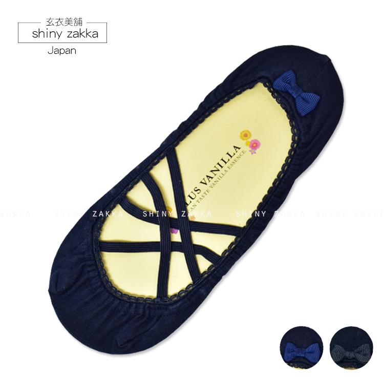 隱形襪-日本 舒適 透氣 造型襪-後跟蝴蝶結-玄衣美舖