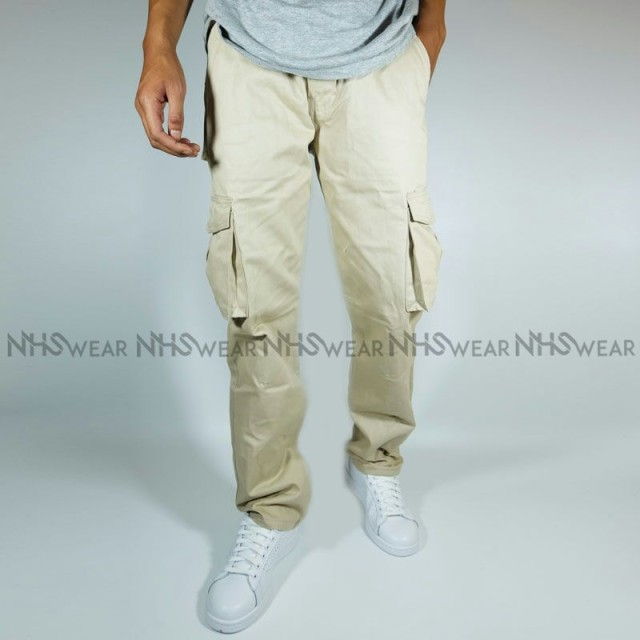 NHS Celana Cargo Panjang Relaxed Fit [Cream]: Rp 180.000. NHS Wear Tapered