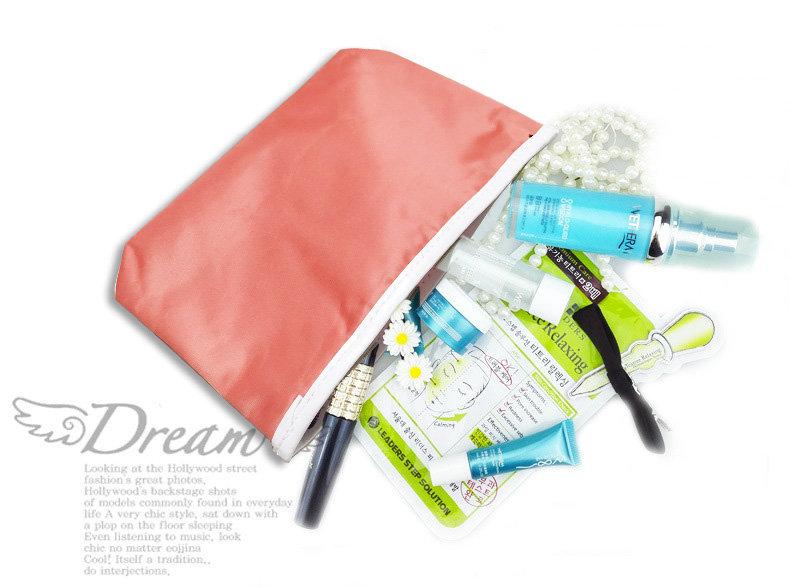 包包【HPN010】韓系質感防水化妝包  防水 隨身包 購物包 零錢包 手提包 化妝包 收納女王