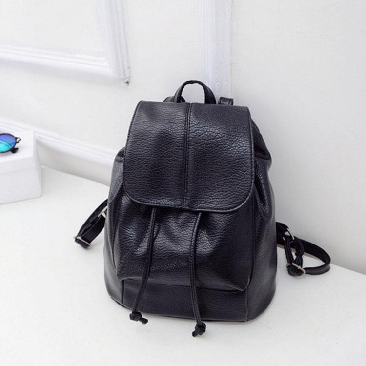 包包【HOC029】時尚小品水洗PU雙肩後背包 皮革流行包 爆款 時尚包 雙肩包 後背包 時尚女孩-收納女王