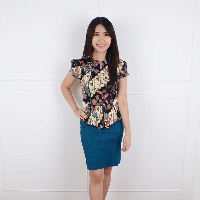 De Voile Dress Batik Wanita sv Umarni UP (Tosca) f116a5dde5