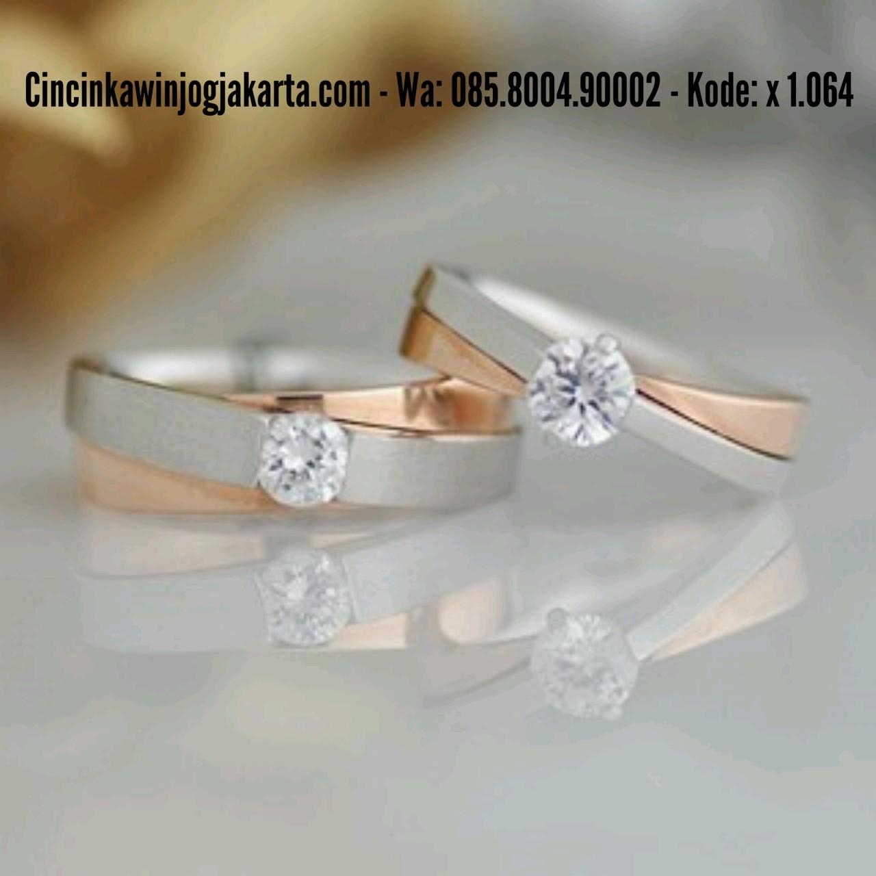 Jogja Blanja Shop Line Cincin Pernikahan Palladium 022 Kawin
