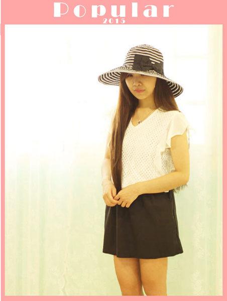 連身裙【TLS006 】縷空連身裙 腰部鬆緊帶 裙子有彈性-收納女王