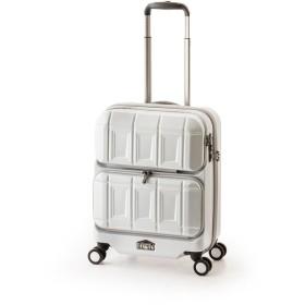 アジア・ラゲージ PTS-6005 マットブラッシュホワイト PANTEON [スーツケース (36L・1~2泊)] 旅行カバン