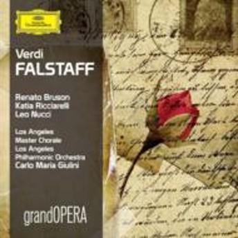 ヴェルディ(1813-1901)/Falstaff: Giulini / Lapo Bruson Ricciarelli Nucci Hendricks Gonzalez