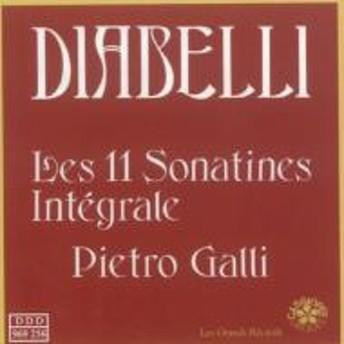 ディアベリ(1781-1858)/Piano Sonatina Vol.1: Galli