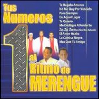 Various/Tus Numeros 1 Al Ritmo De Merengue