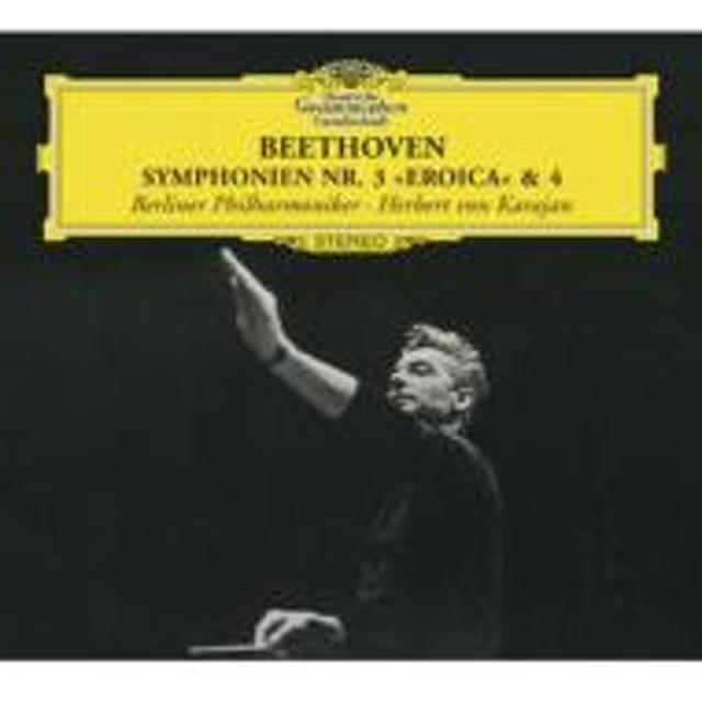 ベートーヴェン(1770-1827)/Sym 3 4 : Karajan / Bpo (1962)
