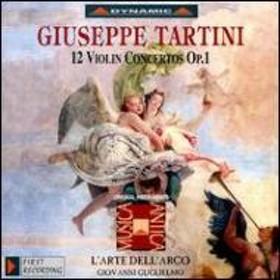 タルティーニ(1692-1770)/Violin Concertos Op.1: Guglielmo(Vn) / L'arte Dell'arco