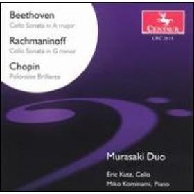Beethoven / Rachmaninov/Cello Sonata.3 / .: Murasaki Duo+chopin: Cellosonata