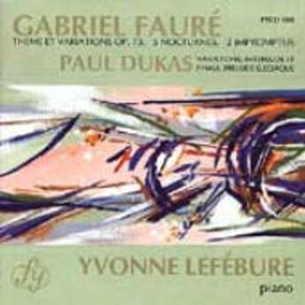 フォーレ (1845-1924)/Piano Works : Lefebure