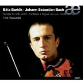 バッハ(1685-1750)/Fantasia & Fugue Etc: Papavrami(Vn) +bartok: Sonata For Violin Solo