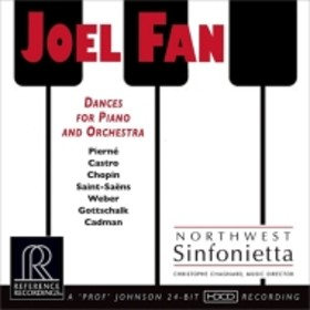ピアノ作品集/Dances For Piano & Orch: Joel Fan(P) Chagnard / Northwest Sinfonietta