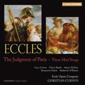 エクルズ、ジョン(1668-1735)/The Judgment Of Paris: Curnyn / Early Opera Company R.williams Hulett Bickley