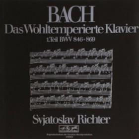 バッハ(1685-1750)/Well-tempered Clavier Book 1 : Sviatoslav Richter(P) (1970)