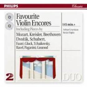 ヴァイオリン作品集/Encore Pieces: Grumiaux / Hajdu