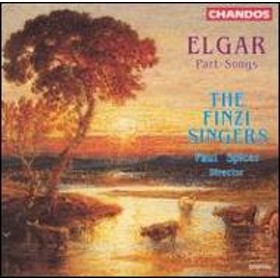 エルガー(1857-1934)/Part Songs: The Finzi Singers