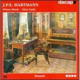 ハルトマン、 J.P. E (1805-1900)/Piano Works: ガーデ(P)