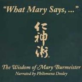 Philomena Dooley/What Mary Says: Jin Shin Jyutsu
