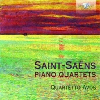 サン=サーンス (1835-1921)/Piano Quartet 1 2 : Quartetto Avos