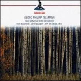 テレマン(1681-1767)/Trio Sonatas With Recorder: Boeckman(Rec) Holloway(Vn) Ter Linden(Gamb) Mortensen(Ce