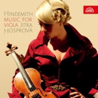 ヒンデミット(1895-1963)/Viola Sonata Solo Sonatas Trauermusik: Hosprova(Va) Cechova(P) Prague Co