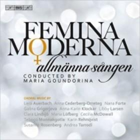 合唱曲オムニバス/Femina Moderna: Goundorina / Allmanna Sangen (Hyb)