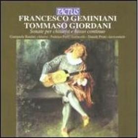 ジェミニアーニ(1687-1762)/Guitar Sonatas: Bandini(G) Ferri(Vc) Proni(Cemb) +giordani: Sonatas