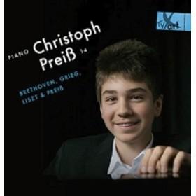 ピアノ作品集/Christoph Preiss: Beethoven: Piano Sonata 6 17 Grieg Liszt Preiss