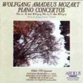 モーツァルト(1756-1791)/(Piano Quintet)piano Concerto.12 13: 伊藤栄麻 岡山潔 服部芳子etc