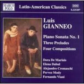 Gianneo Luis (1897-1968) cl/Piano Works Vol.3: Dabul Cremaschi Mody Viani De Marinis Mody(P