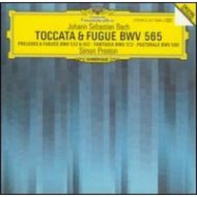バッハ(1685-1750)/Toccata & Fugue-organ Works: Preston