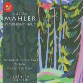 マーラー(1860-1911)/Sym 7 : Zinman / Zurich Tonhalle O