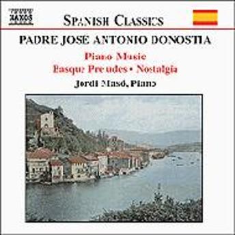 Donostia Aita (1886-1956)/Piano Works: Jordi Maso(P)