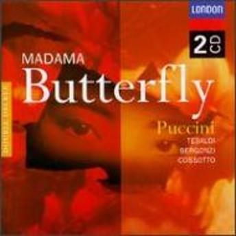 プッチーニ (1858-1924)/Madama Butterfly: Serafin / St. cecilia.o