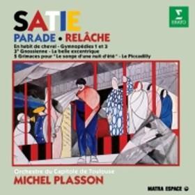 サティ(1866-1925)/Parade Relache Etc: Plasson / Toulouse Capitole O