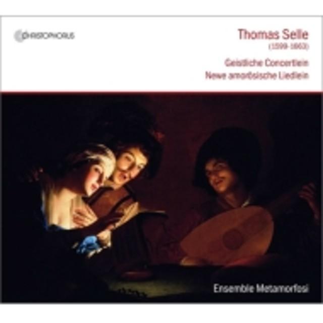 ゼレ(1599-1663)/Geistliche Concertlein: Mandelartz / Ensemble Metamorfosi