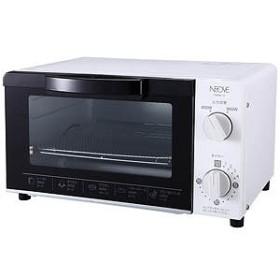 NEOVE オーブントースター NEOVE(ネオーブ) [900W/食パン2枚] TNM8B-W ホワイト